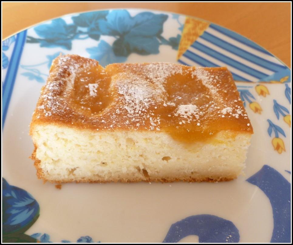 Kuchen Mit Apfelkompott