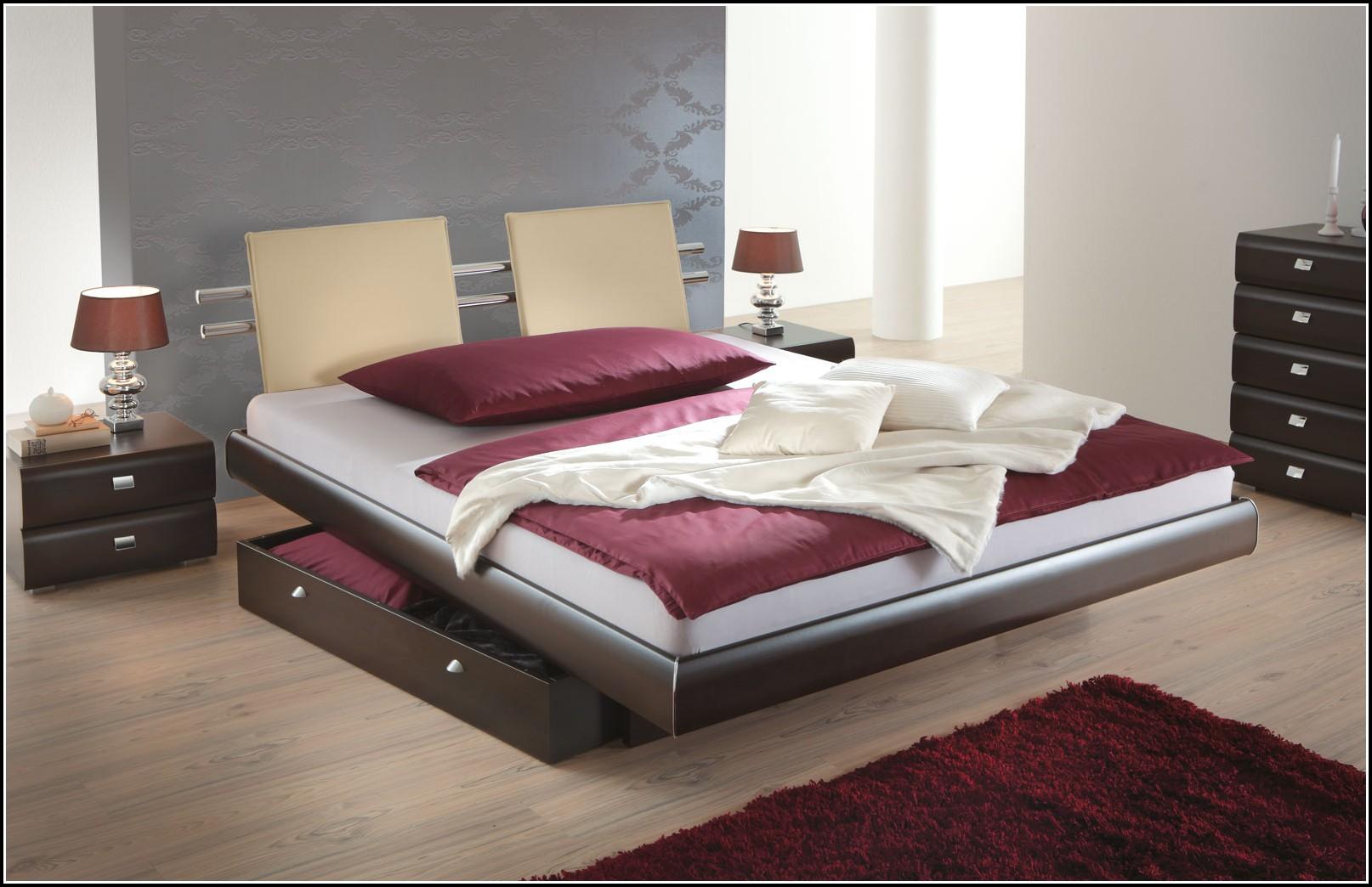 Kunstleder Bett 140×200 Mit Bettkasten