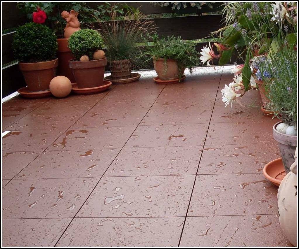 Kunststoff Fliesen Für Terrasse