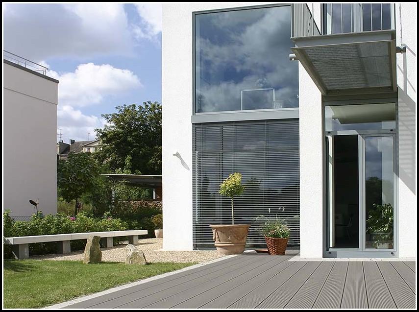 Kunststoff Holz Dielen Terrasse