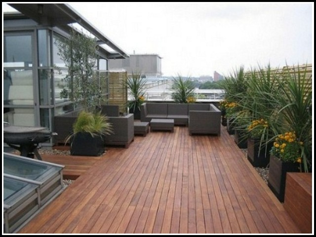 Kunststoff Terrassendielen