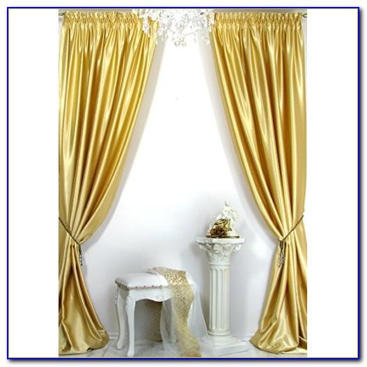 Lametta Vorhang Gold