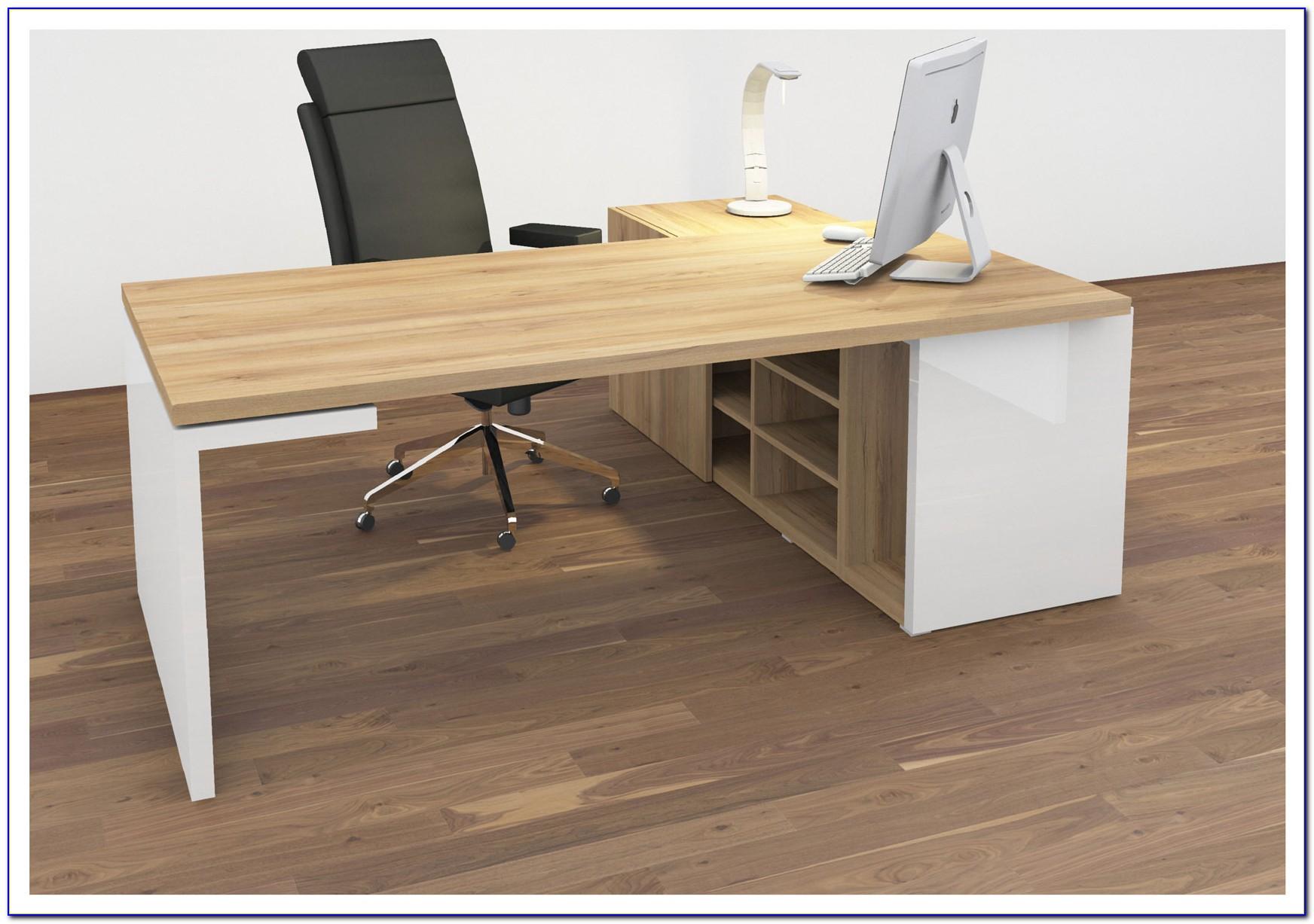 Langer Schreibtisch Ikea
