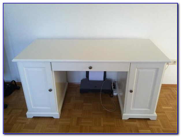 Liatorp Schreibtisch Weiß