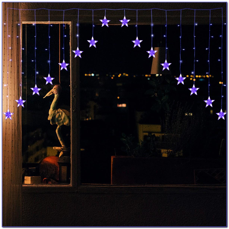 Lichterkette Vorhang Stern
