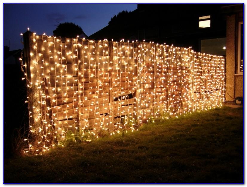 Lichterketten Vorhang Led