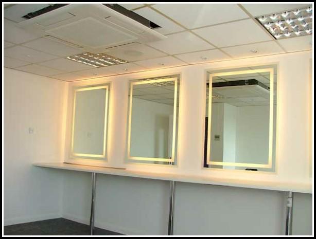 Living Style® Spiegel Schrank Mit Led Beleuchtung