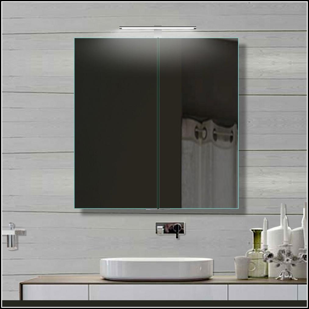 Living Style® Spiegelschrank Mit Led Beleuchtung
