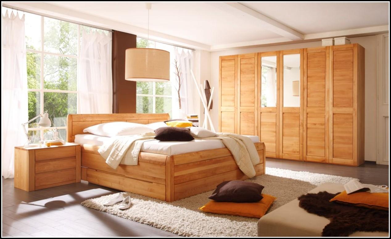 Loddenkemper Schlafzimmer Erle Massiv