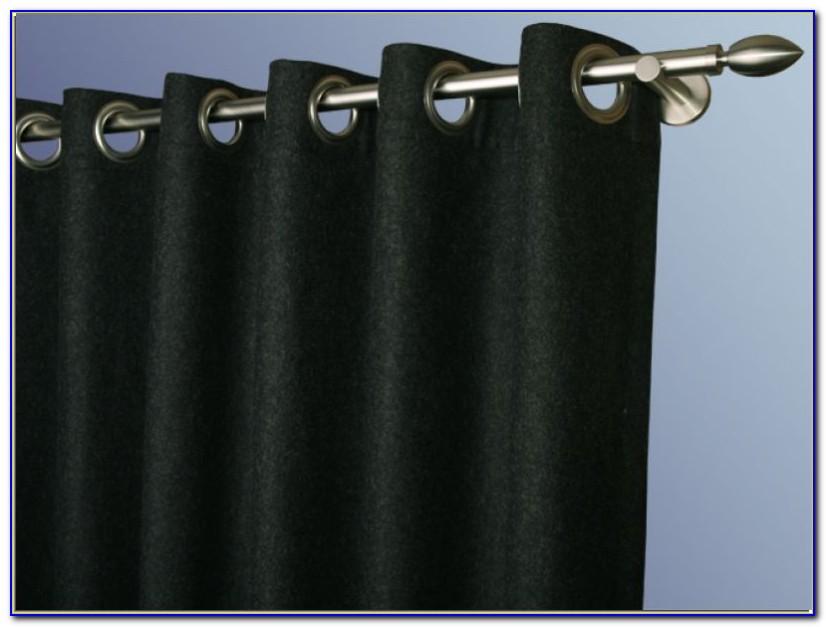Lodenstoff Vorhang