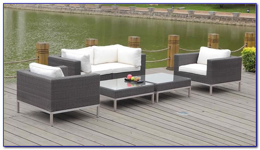 Lounge Gartenmöbel Polyrattan Sitzgruppe