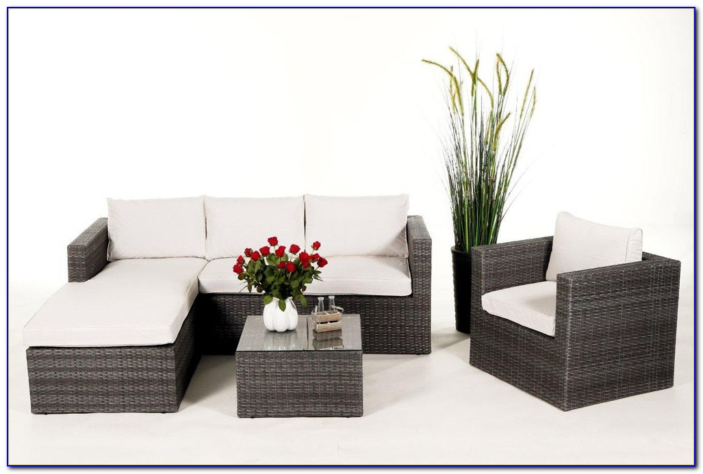 Lounge Gartenmöbel Rattan