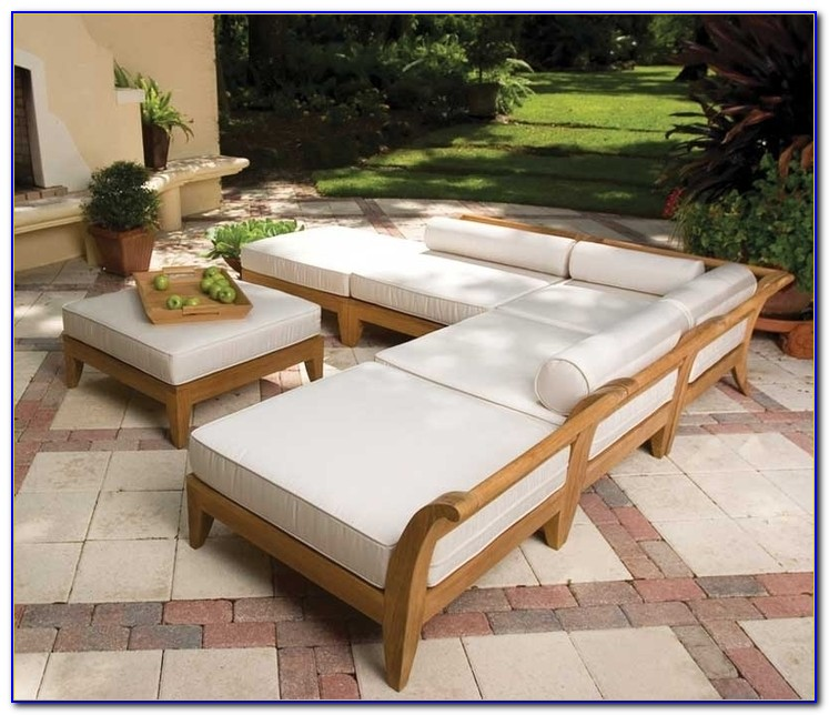Loungemöbel Garten Holz