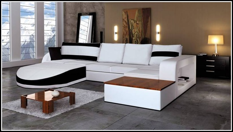Luxus Leder Sofa Garnitur