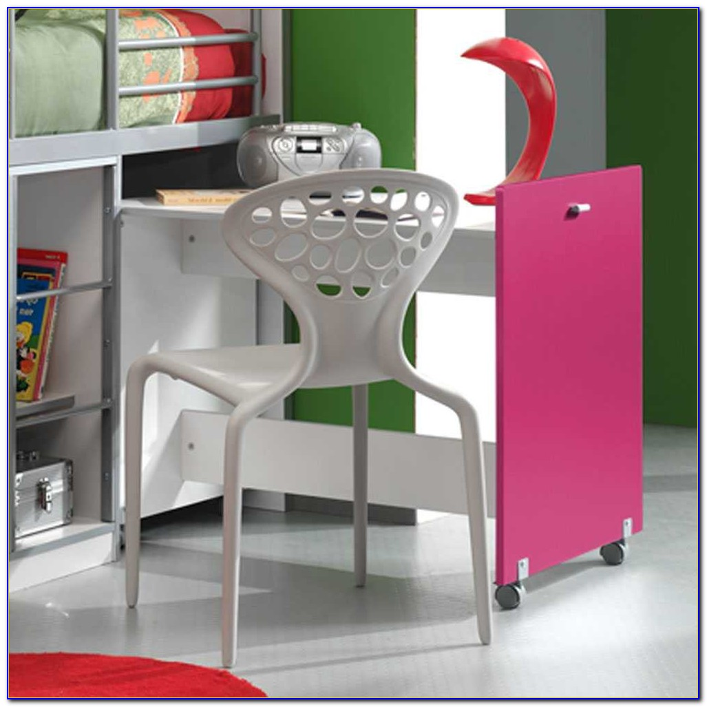 Mädchen Schreibtisch Weiß