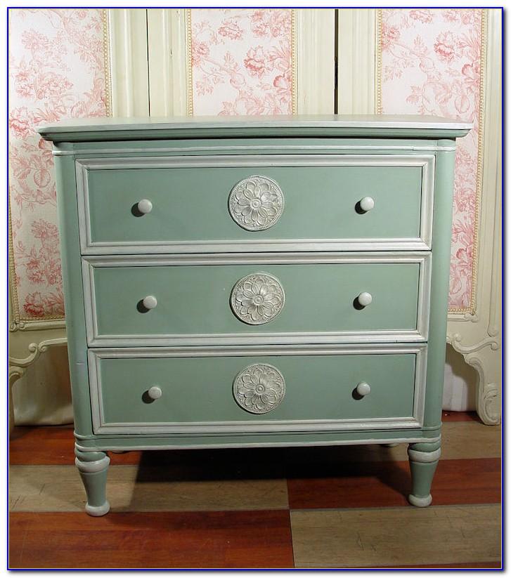 Möbel Antik Look Lackieren