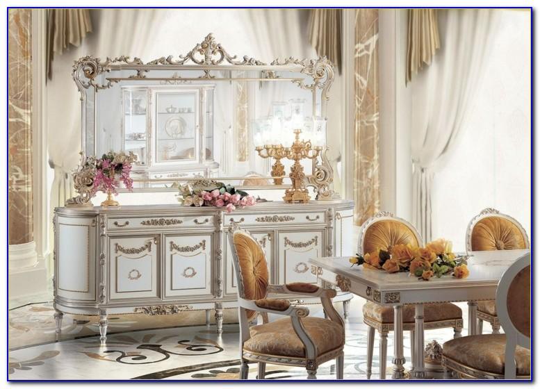 Möbel Antik Look Weiß