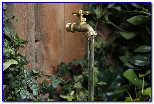 Magischer Wasserhahn Brunnen