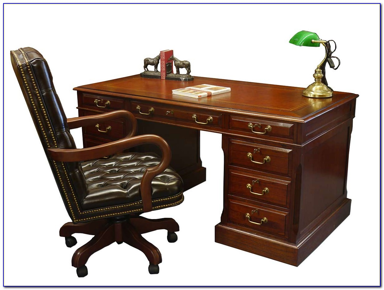Mahagoni Schreibtisch Modern