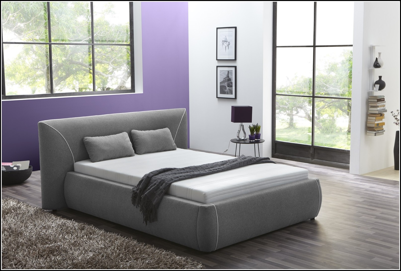 Malm Bett 140 Weiß