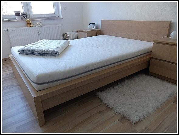 Malm Bett 140×200 Weiß
