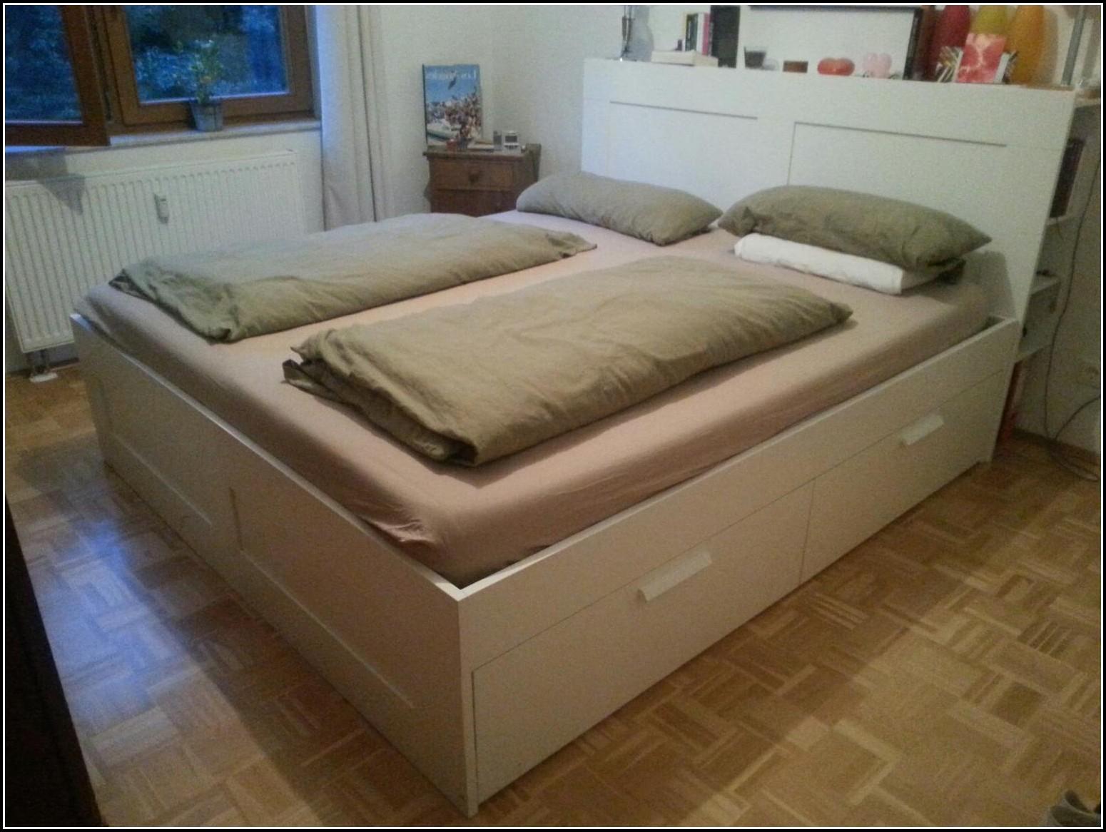 Malm Bett 180×200 Hoch