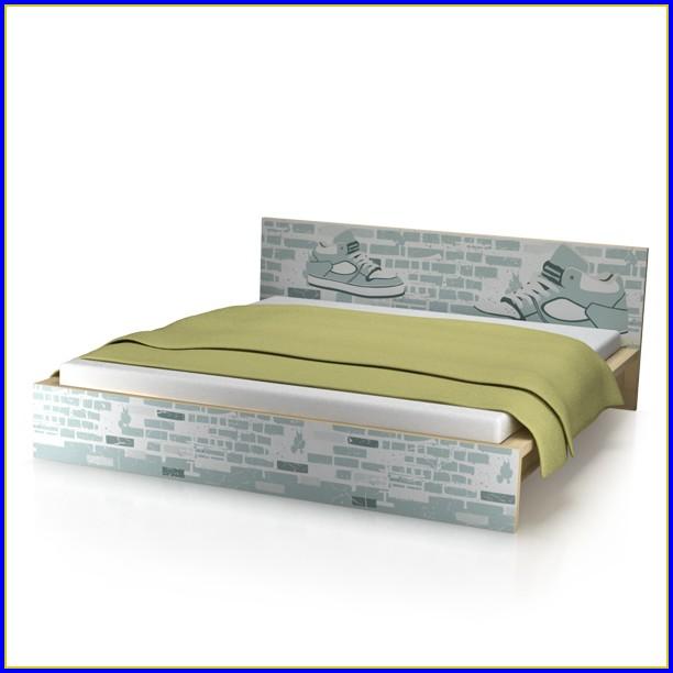 Malm Bett 90×200 Weiß