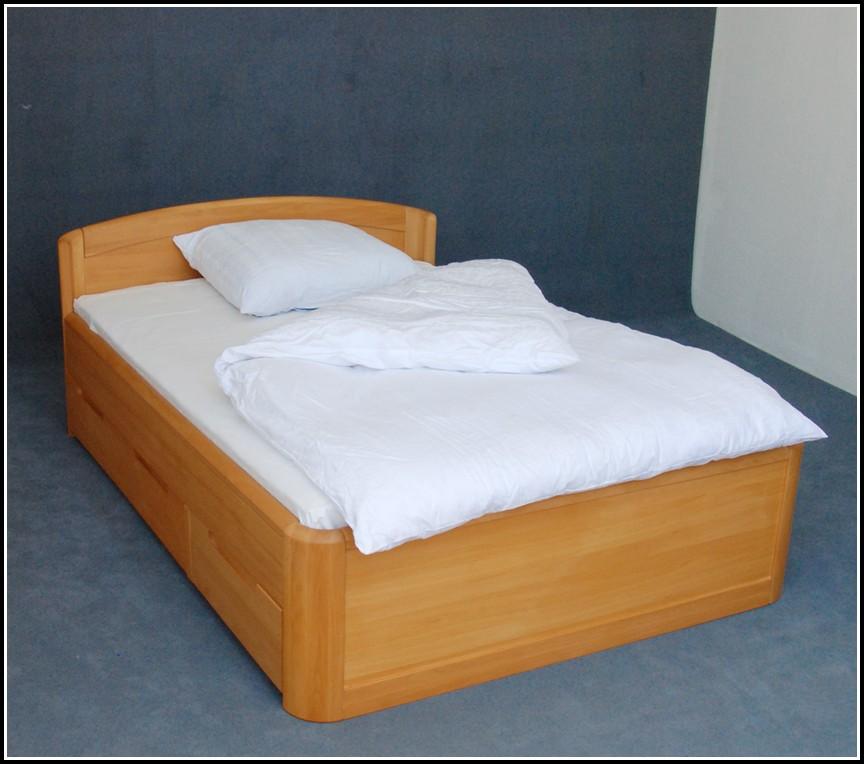 Malm Bett Hoch Weiß