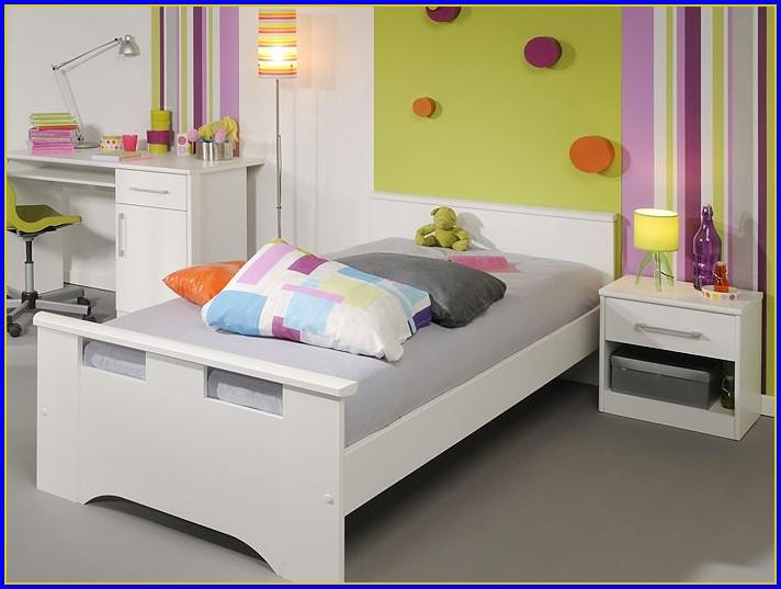 Malm Bett Mit Nachttisch