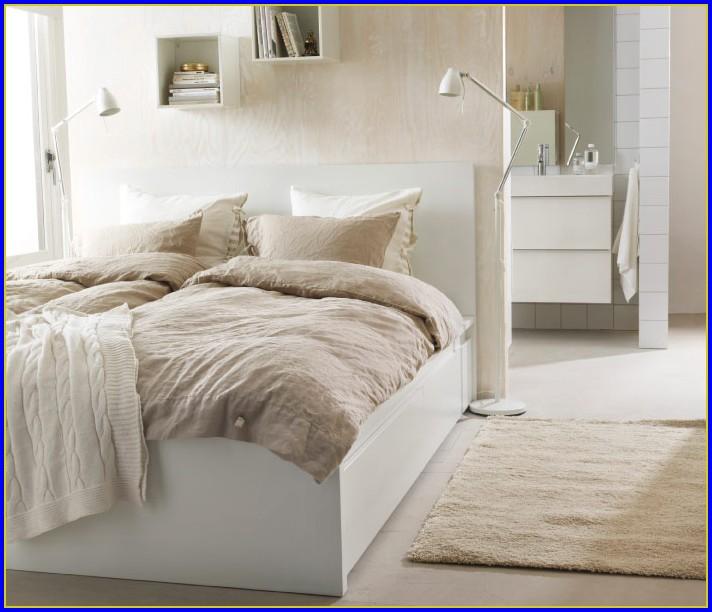 Malm Bett Weiss Ikea