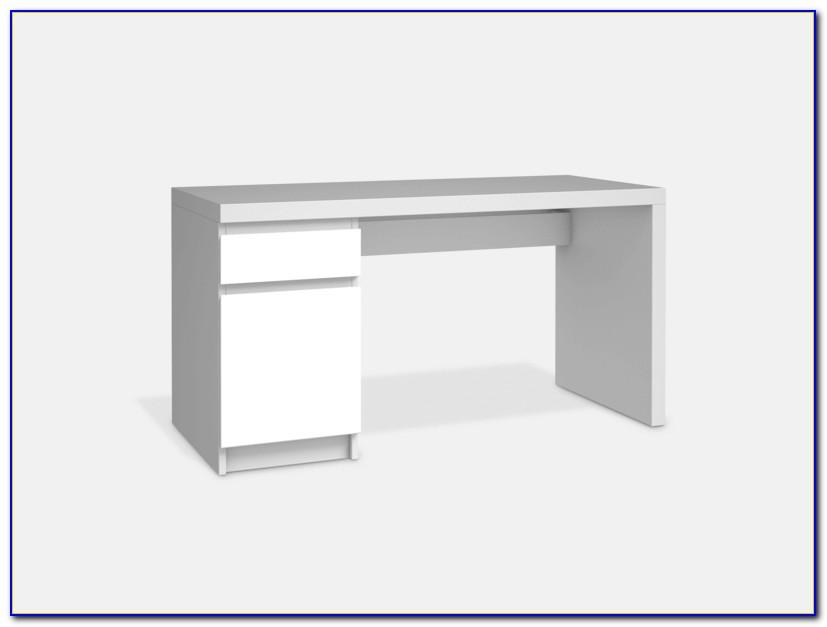 Malm Schreibtisch Ikea Weiß
