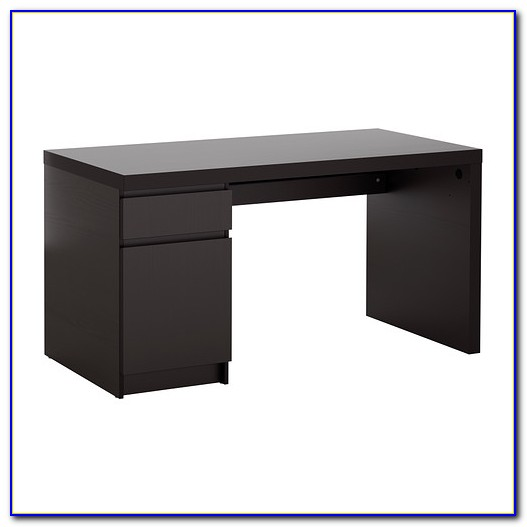 Malm Schreibtisch Mit Ausziehplatte Weiß