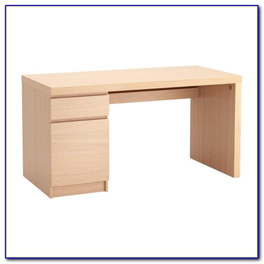 Malm Schreibtisch Weiß