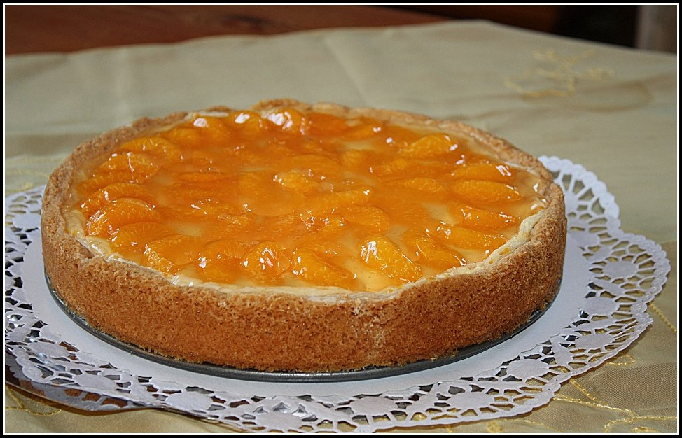 Mandarinen Schmand Kuchen Rezept Dr. Oetker