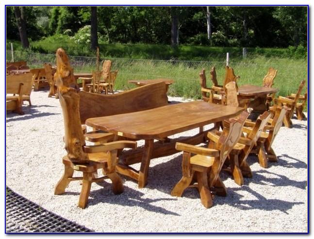 Massivholz Gartenmöbel Rustikal Ungarn