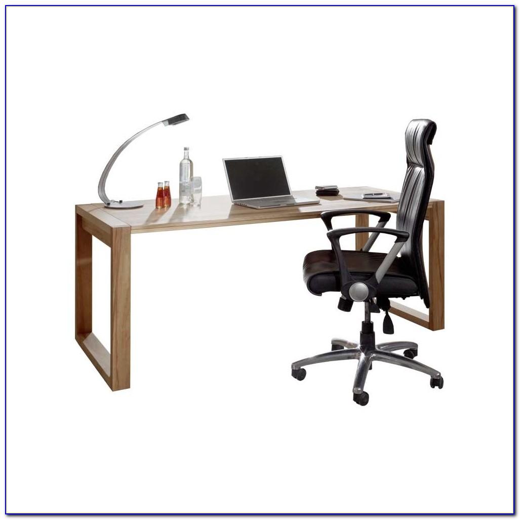 Massivholz Schreibtisch Weiß