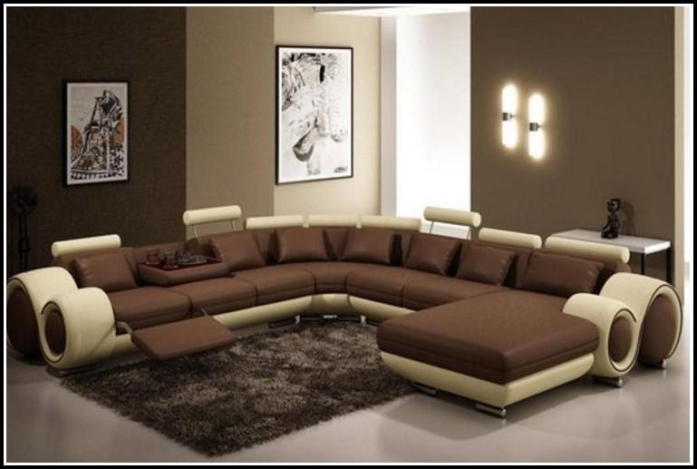 Mega Big Sofa Kolonialstil