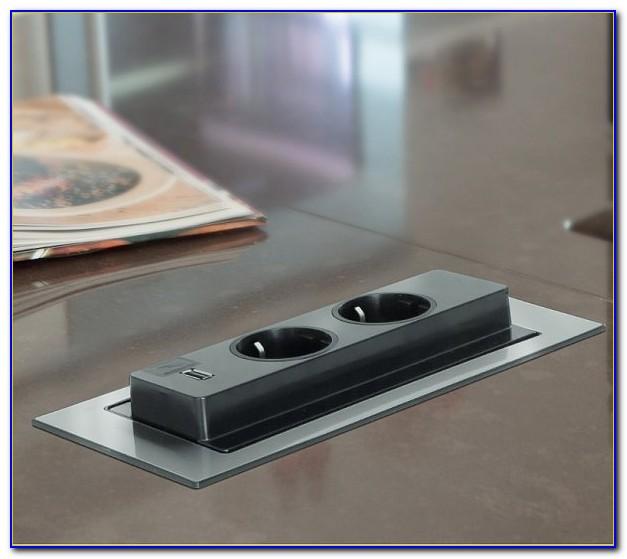Mehrfach Steckdose Schreibtisch