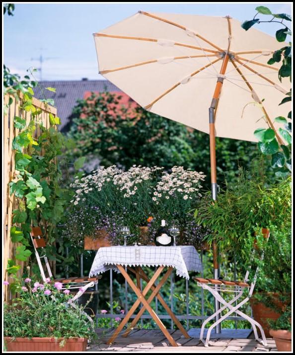 Mein Garten Auf Dem Balkon