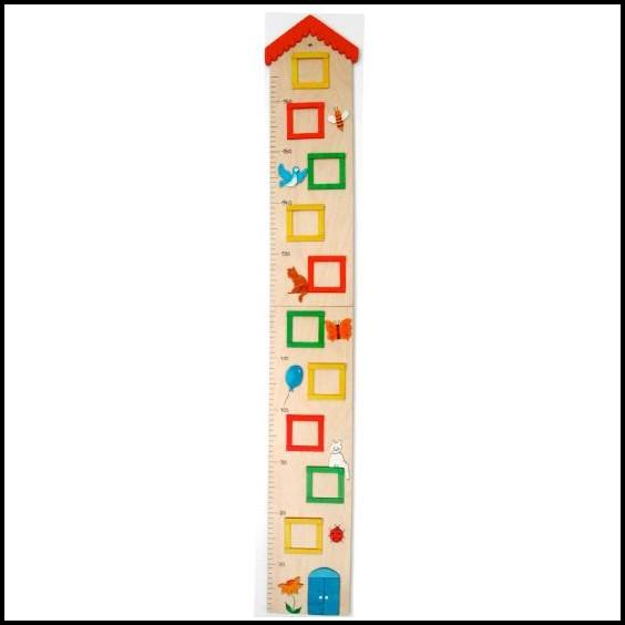 Messlatte Kinderzimmer Holz Basteln