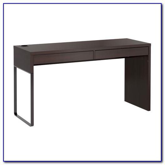 Micke Schreibtisch Mit Druckerfach Weiß