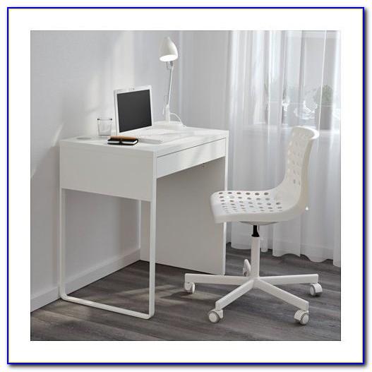 Micke Schreibtisch Weiß