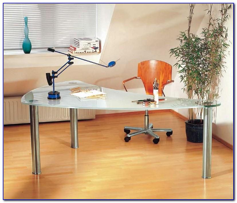 Moderne Glas Schreibtische