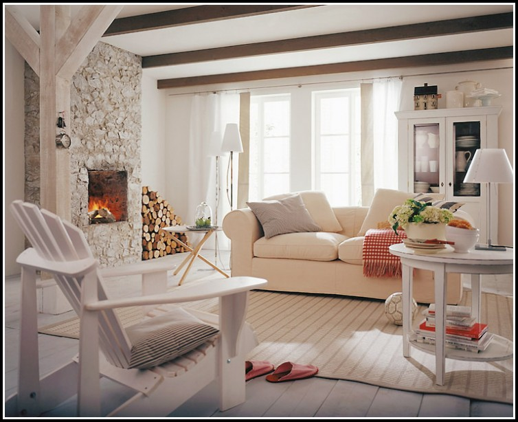 Moderner Landhausstil Wohnzimmer