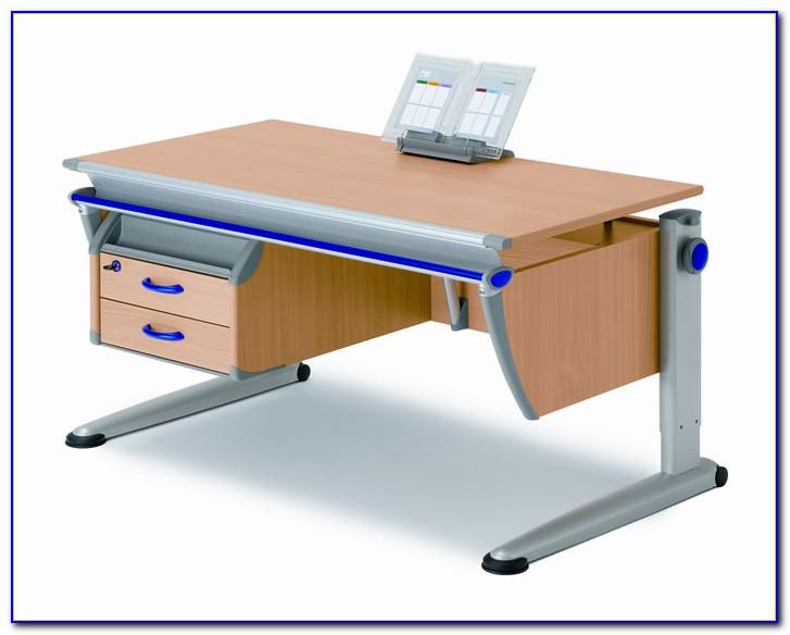 Moll Schreibtisch Booster Weiß Comfort