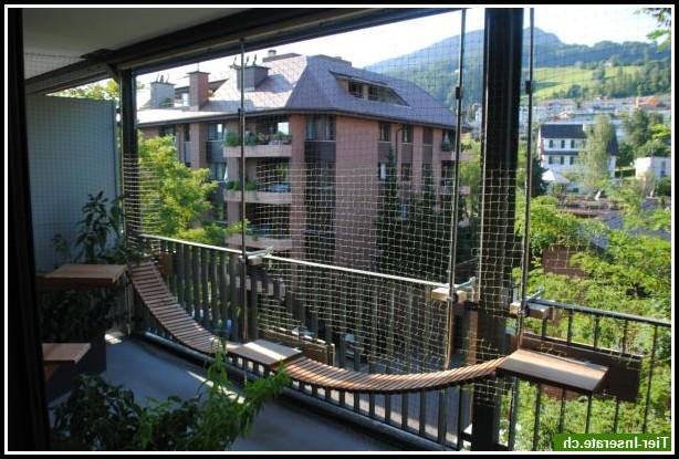 Montageanleitung Katzennetz Balkon
