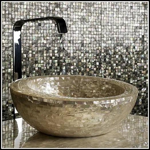 Mosaik Fliesen Badewanne