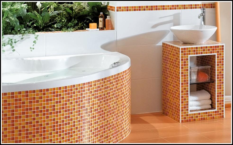 Mosaik Fliesen Verlegen Dusche