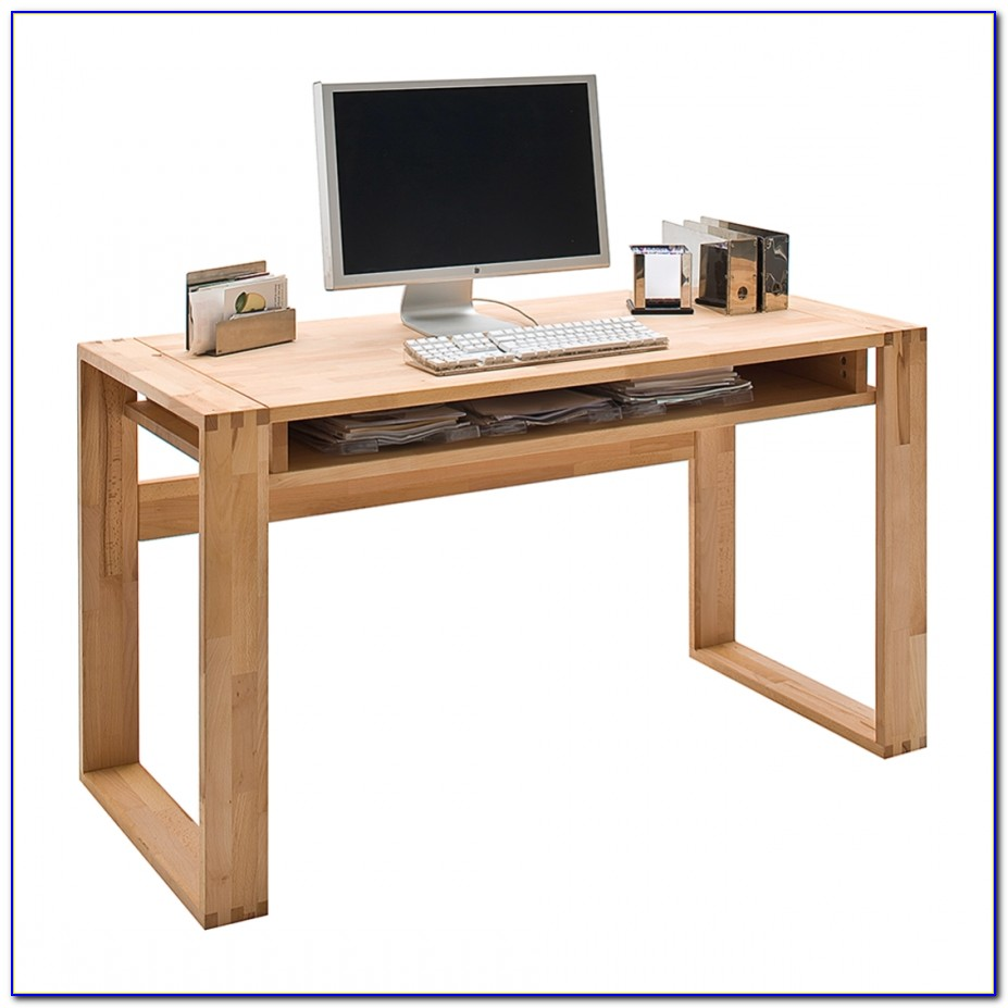 Naturholz Schreibtischplatte