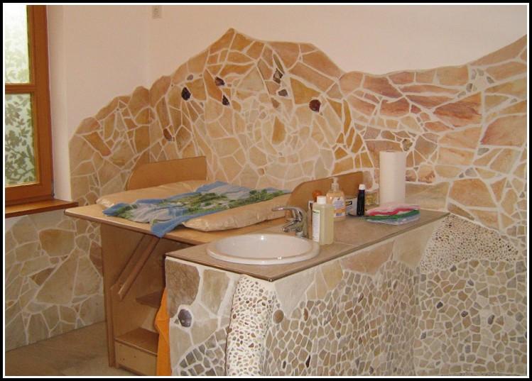 Naturstein Mosaik Fliesen Bad
